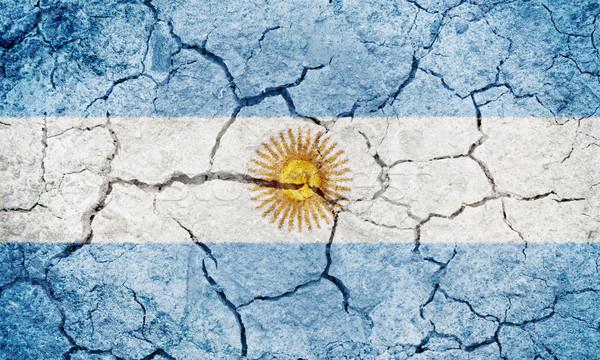 Argentine Republic flag Stock photo © grafvision