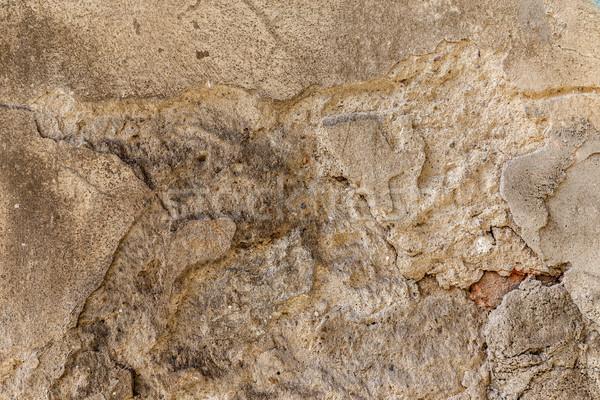 Cemento vecchio texture naturale costruzione design Foto d'archivio © grafvision