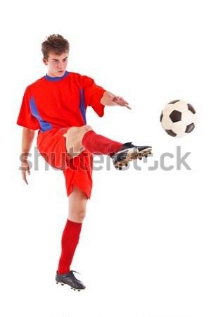 Soccer player Stock photo © grafvision