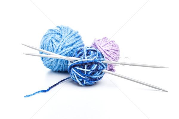 Balls of wool  Stock photo © grafvision