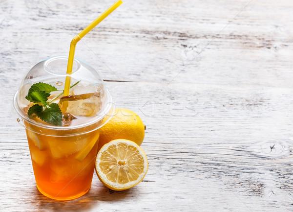 Fresh ice tea Stock photo © grafvision