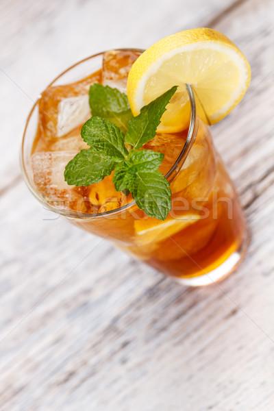 Glass of ice tea  Stock photo © grafvision