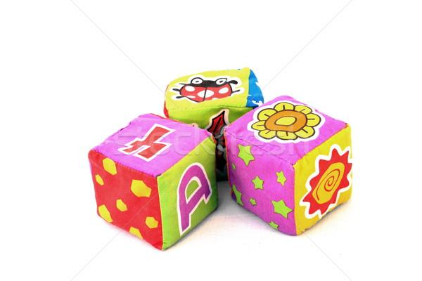 textile block toys Stock photo © grafvision