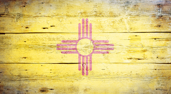 Stock photo: Flag of the state of New Mexico