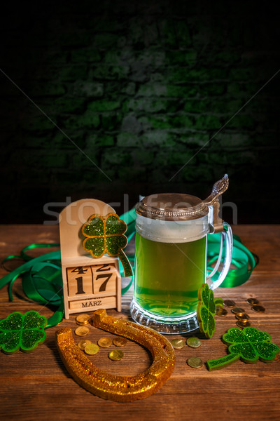 St. Patricks Day still life Stock photo © grafvision