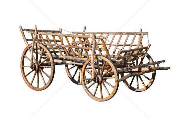 Old decorative cart Stock photo © grafvision