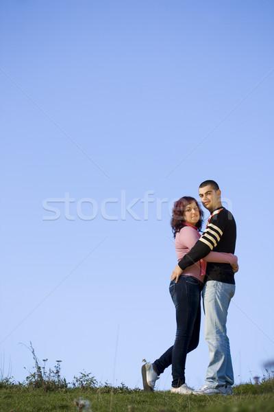 愛 カップル 幸せ いい 日 ストックフォト © grafvision