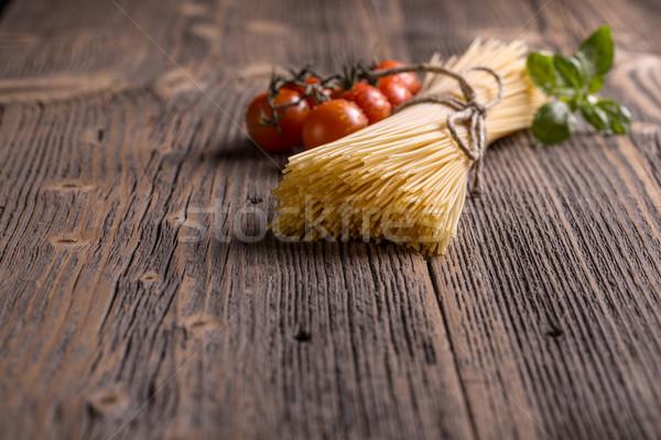 Stock photo: Spaghetti