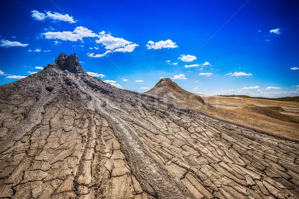 Ativo lama textura terra montanha viajar Foto stock © grafvision