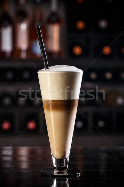 Latte macchiato Stock photo © grafvision