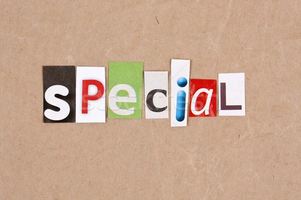 Special Stock photo © grafvision
