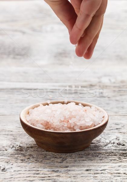 Pink salt Stock photo © grafvision