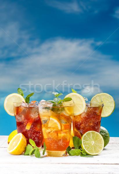 Summer iced tea Stock photo © grafvision