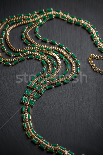 Necklace with stones Stock photo © grafvision