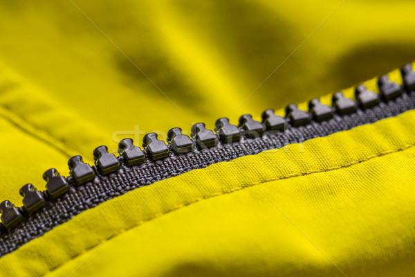 Zíper roupa abstrato projeto pano Foto stock © grafvision