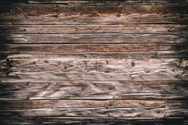 Grunge fából készült textúra vízszintes deszkák fa Stock fotó © grafvision