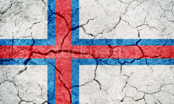 Faroe Islands flag Stock photo © grafvision