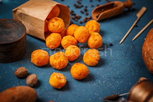 Sweet otato croquettes Stock photo © grafvision