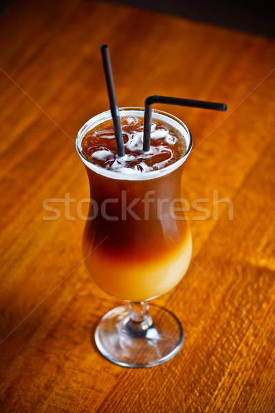 ストックフォト: エスプレッソ · コーヒー · ウォッカ · オレンジジュース · グレープフルーツ · ジュース