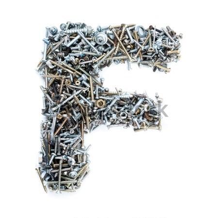 screws number Stock photo © grafvision