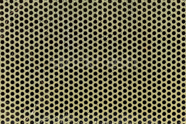 Metal with perforated holes Stock photo © grafvision