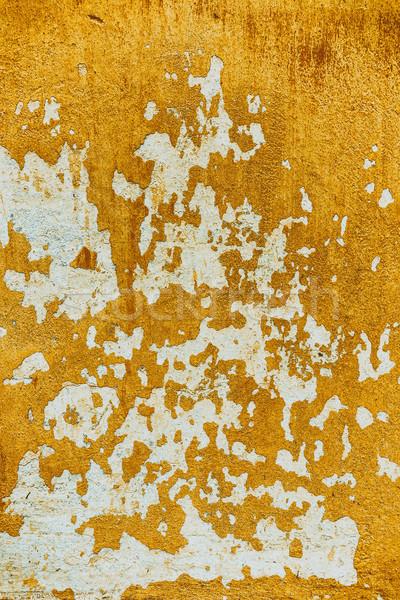 Plaster peeling off  Stock photo © grafvision