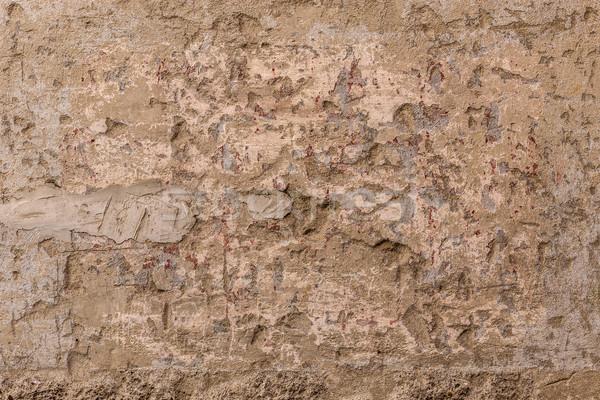Mur plâtre texture bâtiment résumé design Photo stock © grafvision