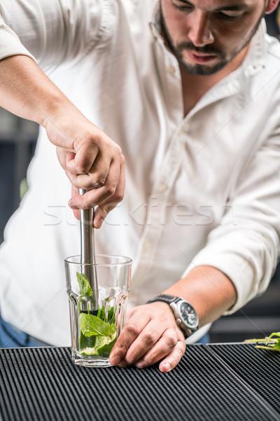 Mojito cocktail Stock photo © grafvision