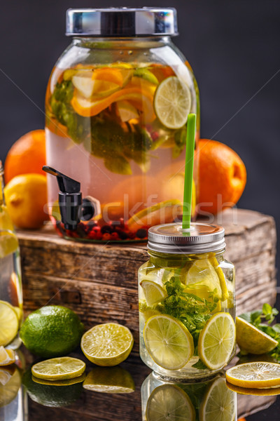 Ice refreshing summer drink Stock photo © grafvision