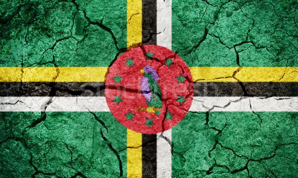 Commonwealth of Dominica flag Stock photo © grafvision