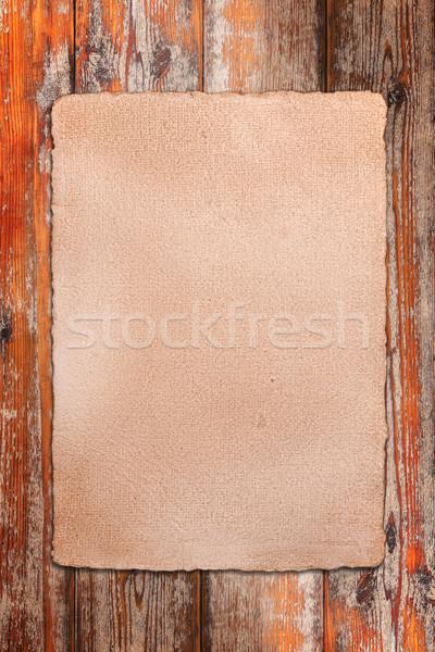 Parchment Stock photo © grafvision