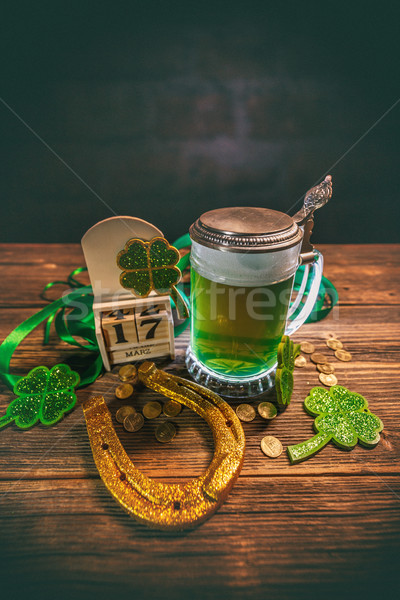 Stock photo: Still life of St. Patrick's Day