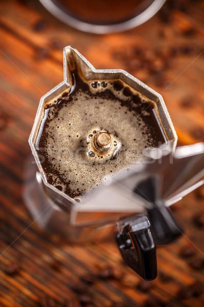 Percolated espresso coffee Stock photo © grafvision