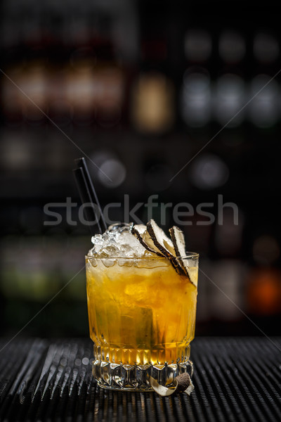 Iced refreshing cocktail Stock photo © grafvision