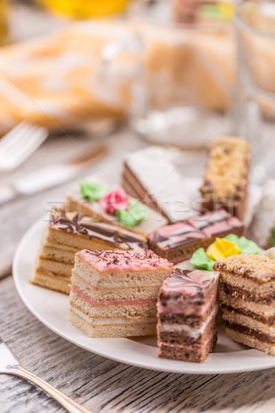 Sweet cakes Stock photo © grafvision