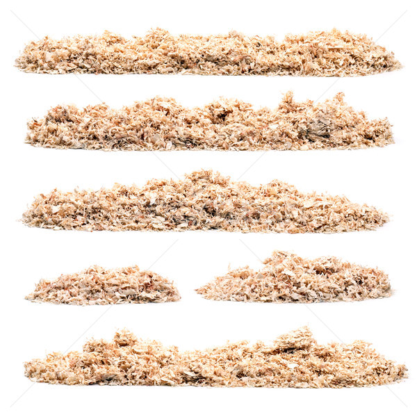 Conjunto serra poeira branco textura Foto stock © grafvision