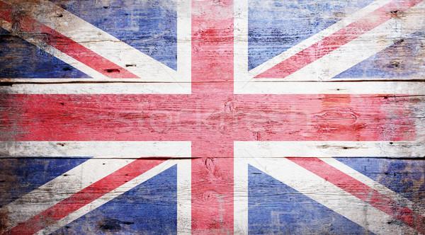 Flag of the United Kingdom Stock photo © grafvision