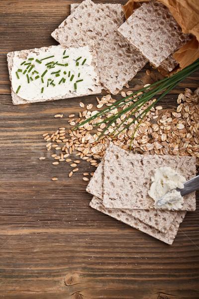 Swedish crispbread Stock photo © grafvision