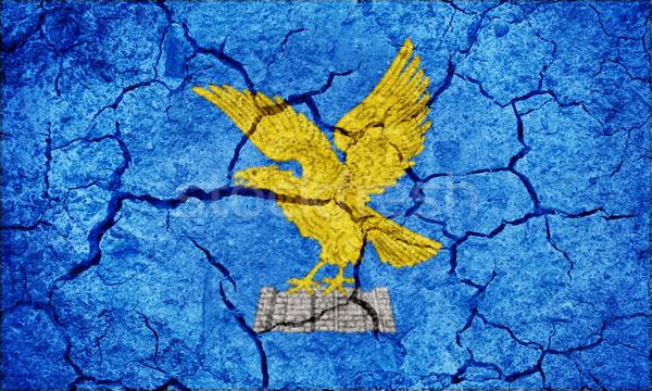 Región Italia bandera secar tierra suelo Foto stock © grafvision