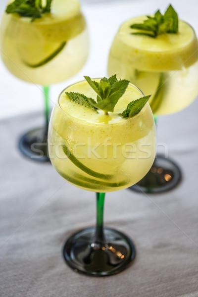 Cold lemonade Stock photo © grafvision
