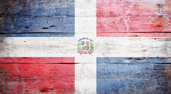 Flag of the Dominican Republic Stock photo © grafvision