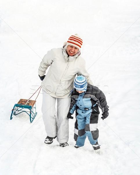 Winter time Stock photo © grafvision