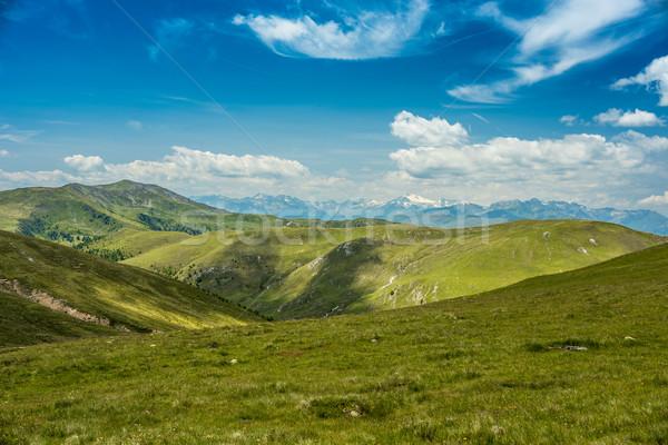 Beautiful landscape in the Alps Stock photo © grafvision