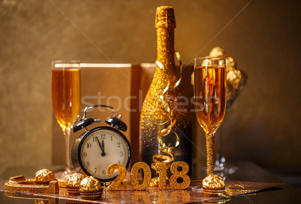 2018 New Years Eve Stock photo © grafvision