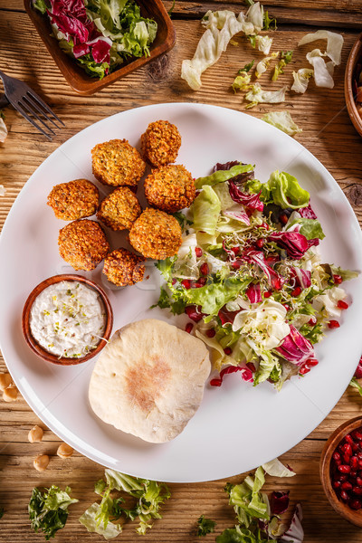 Chickpea falafel balls Stock photo © grafvision
