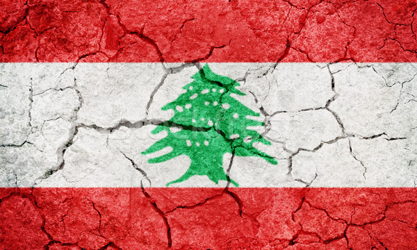 Lebanese Republic flag Stock photo © grafvision