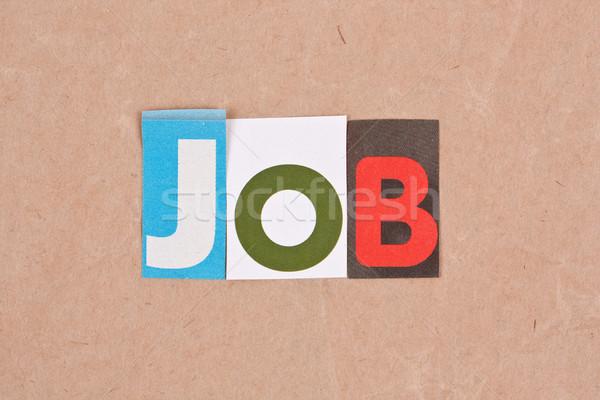 Job Stock photo © grafvision