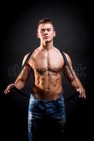 Portrait of a handsome man Stock photo © grafvision