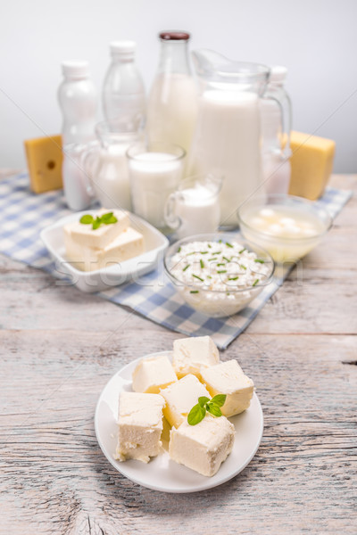 Butter and various dairy products  Stock photo © grafvision