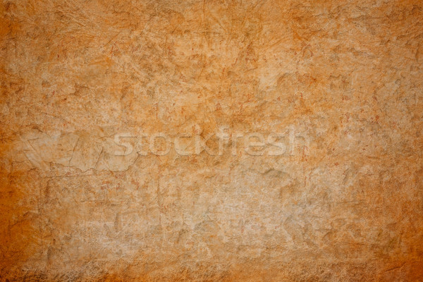Stock photo: Grunge brown concrete wall